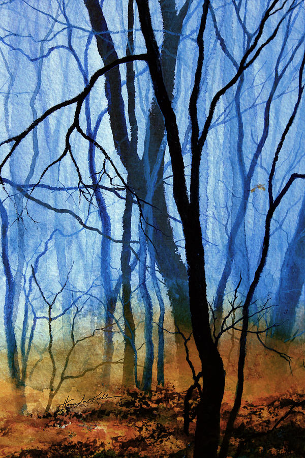 Misty Woods - 3 Painting