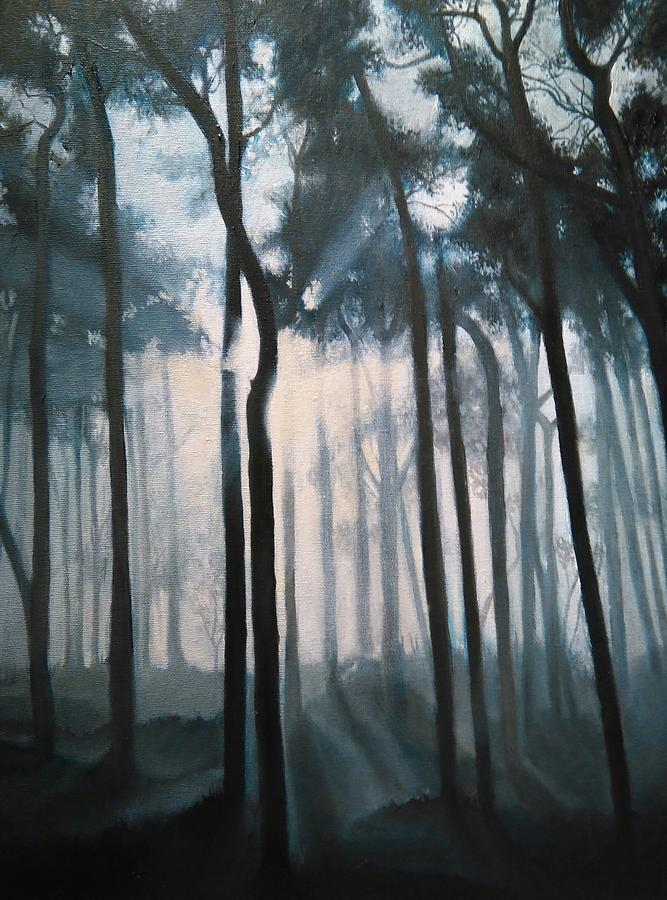 Misty Woods by Caroline Philp