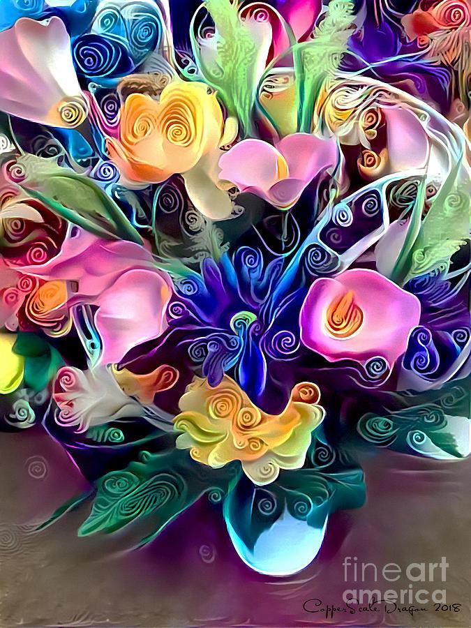 Mixed Bouquet Digital Art