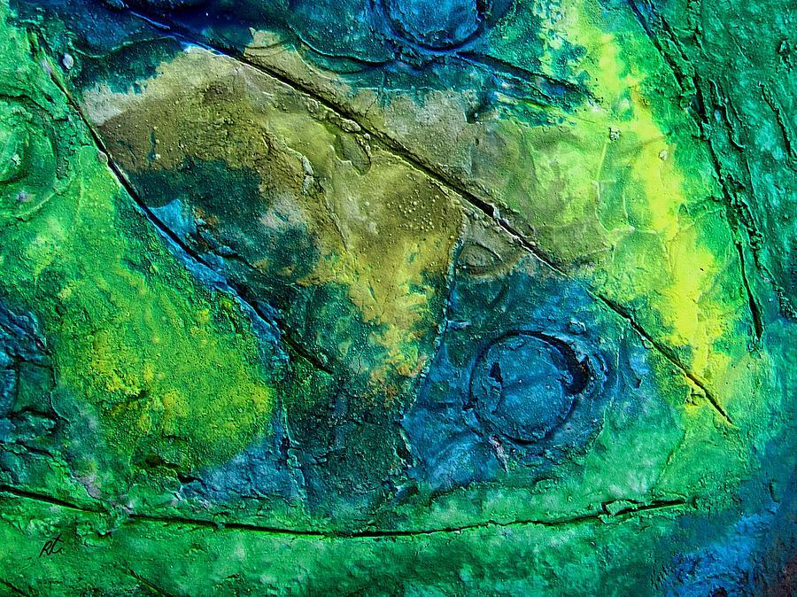 Contemporary Painting - Mixed Media 01 By Rafi Talby by Rafi Talby