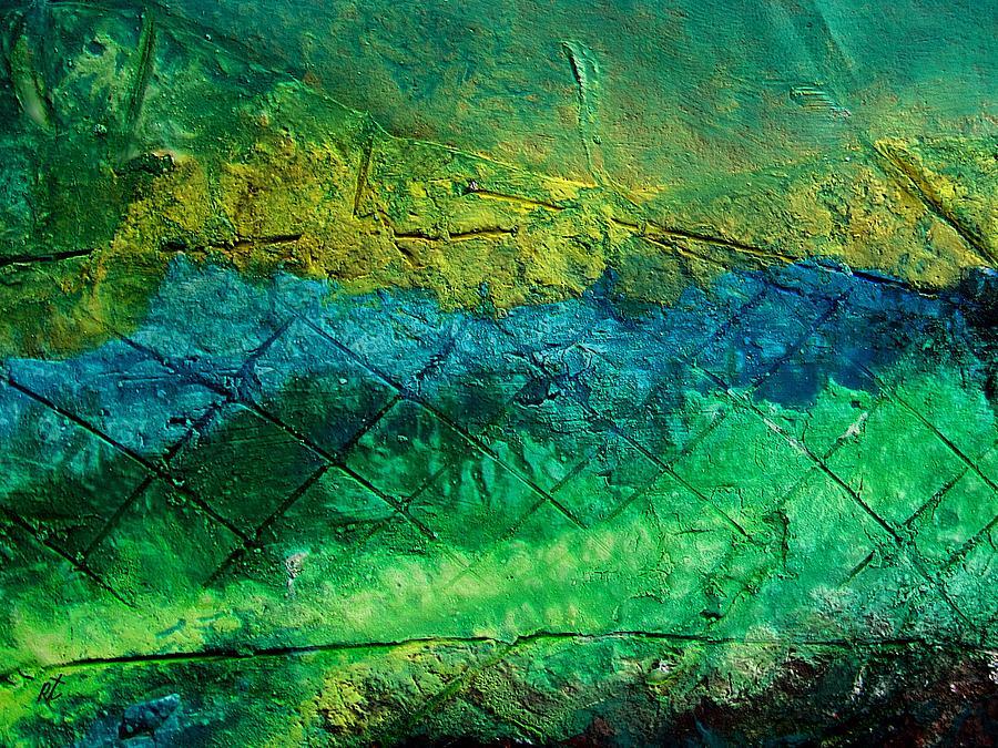 Contemporary Painting - Mixed media 02 by rafi talby by Rafi Talby