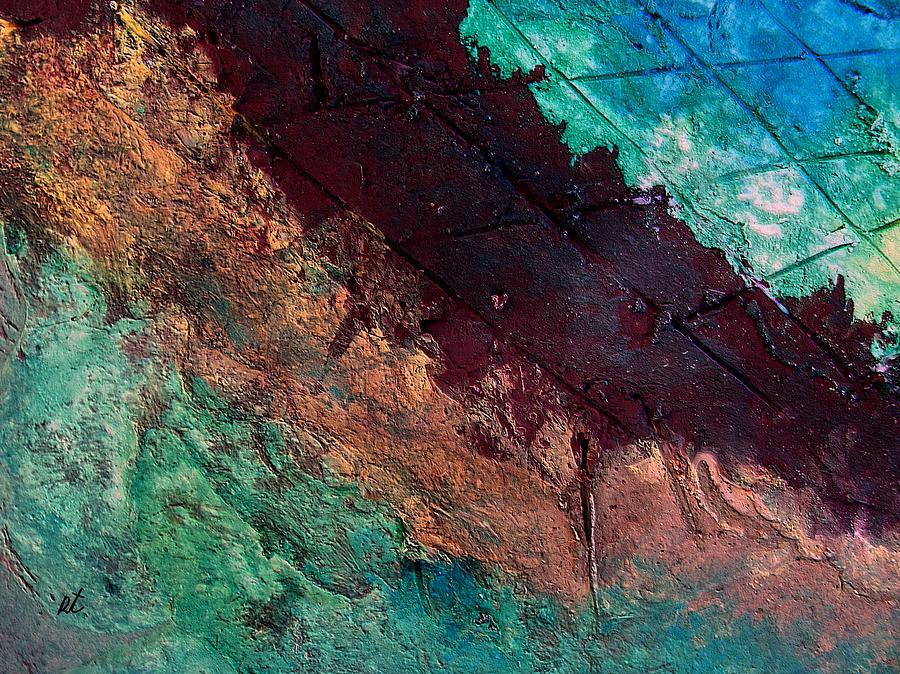 Contemporary Painting - Mixed Media 04 By Rafi Talby by Rafi Talby