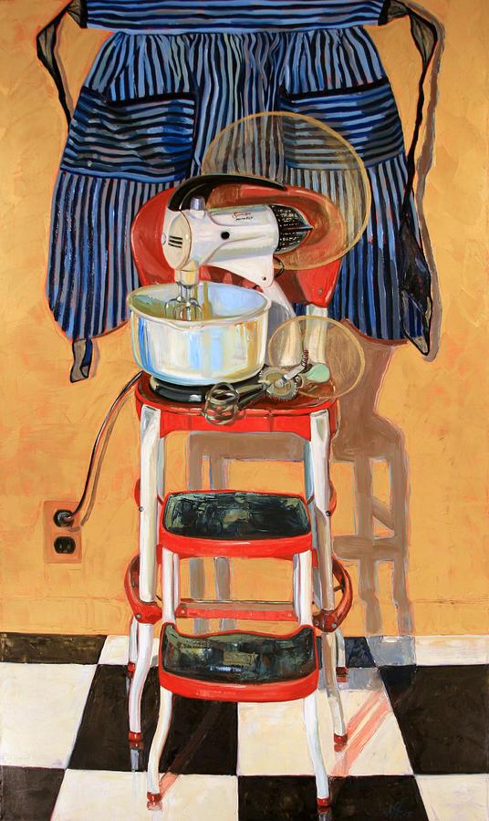 Vintage Painting - Mixer Maesta by Jennie Traill Schaeffer