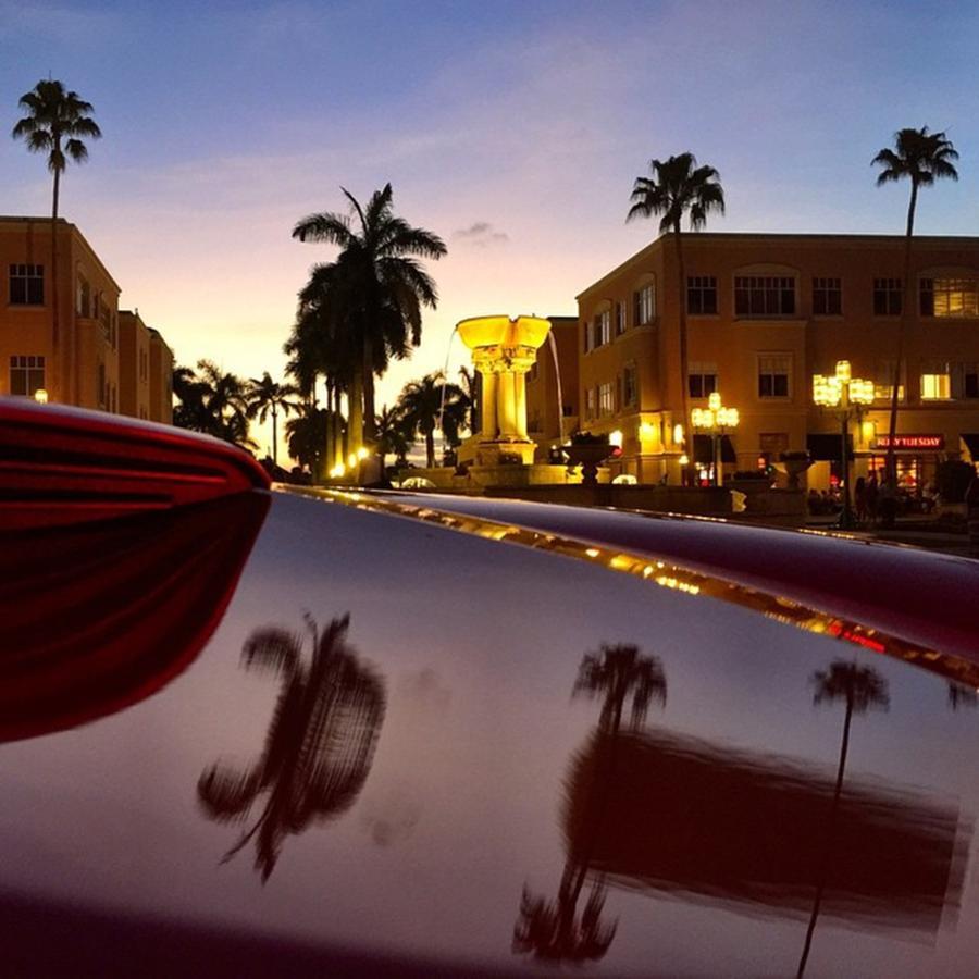Florida Photograph - Mizner Park, Boca Raton, Florida by Juan Silva