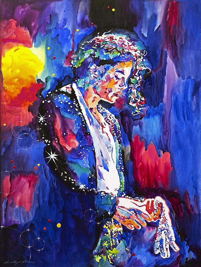 Mj Final Performance II Painting