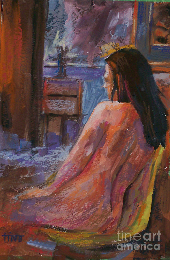 Figurative Painting - Mm Fig6 by Tina Siddiqui