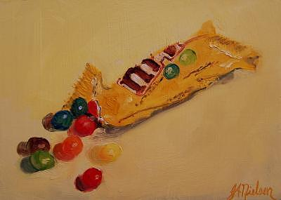 Candy Painting - Mms  by Julieanne Nielsen