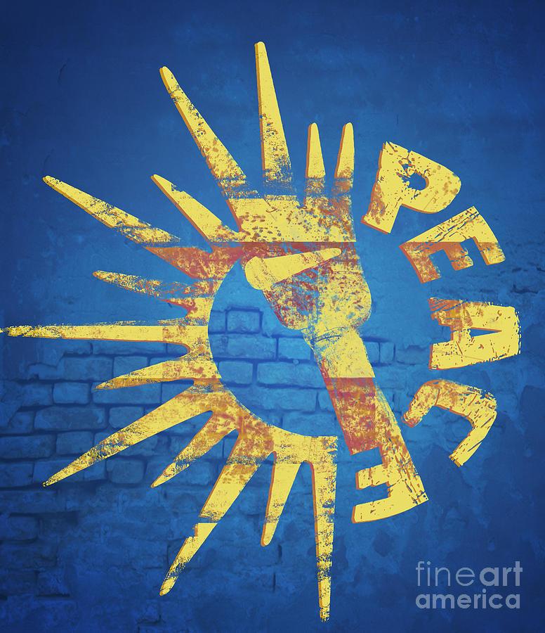 Peace Digital Art - Moar Peace by Laura Brightwood