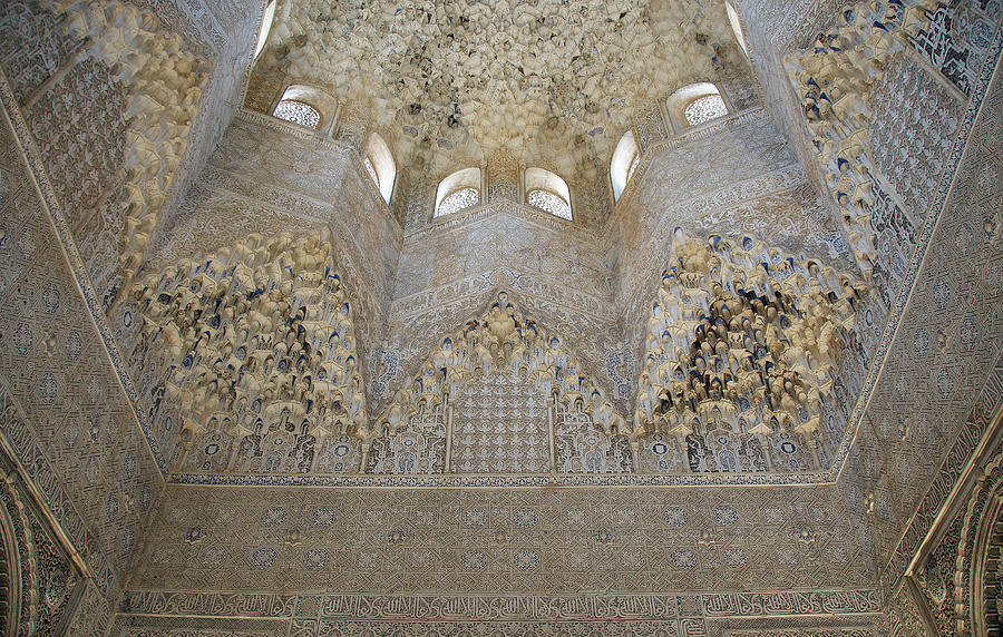 Mocarabe Ceiling, Alhambra by David Kleinsasser