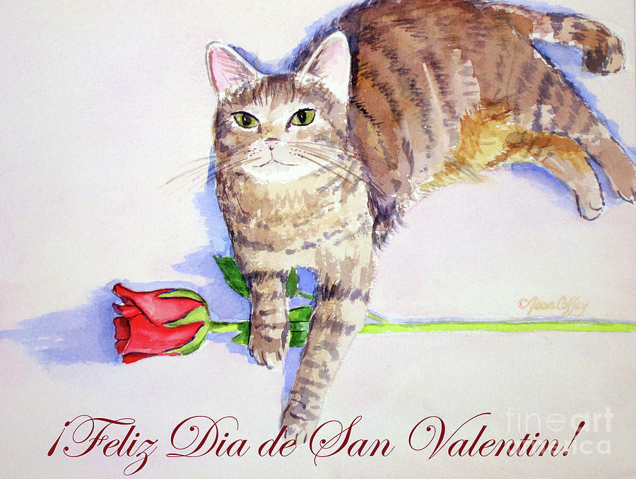 Mocha San Valentin 1 by Joan Coffey