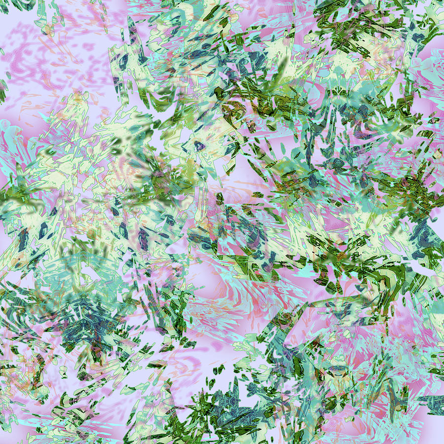 Mock Floral Darma by Kristin Doner