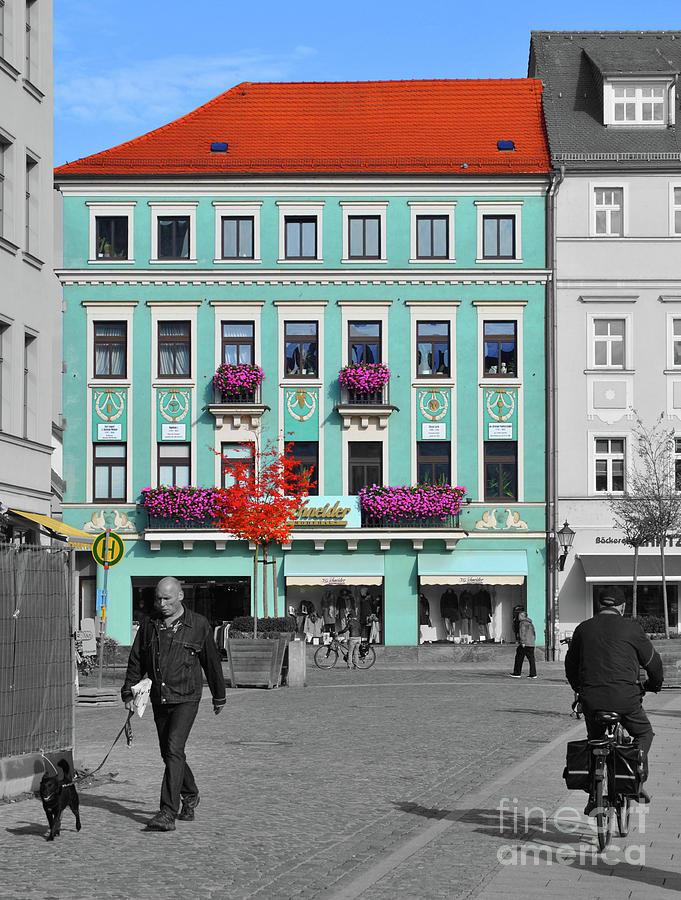 Germany Photograph - Modehaus I.g. Schneider by Jost Houk