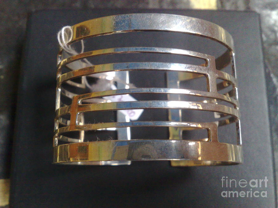 Sterling Silver Earring Jewelry - Model 1 - Ss Plain Cuff With Home Gate Entrance Desings by fmnjewel - Fernando Situmeang