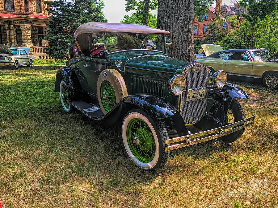 Model A Ford Photograph - 1928 Model A Ford  by Luther Fine Art
