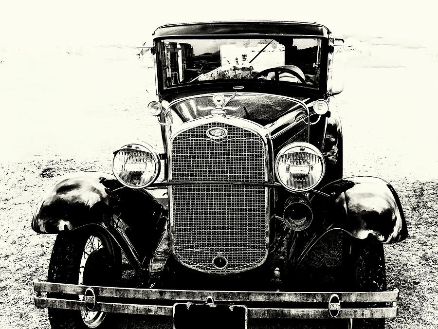 Model A Ford Photograph