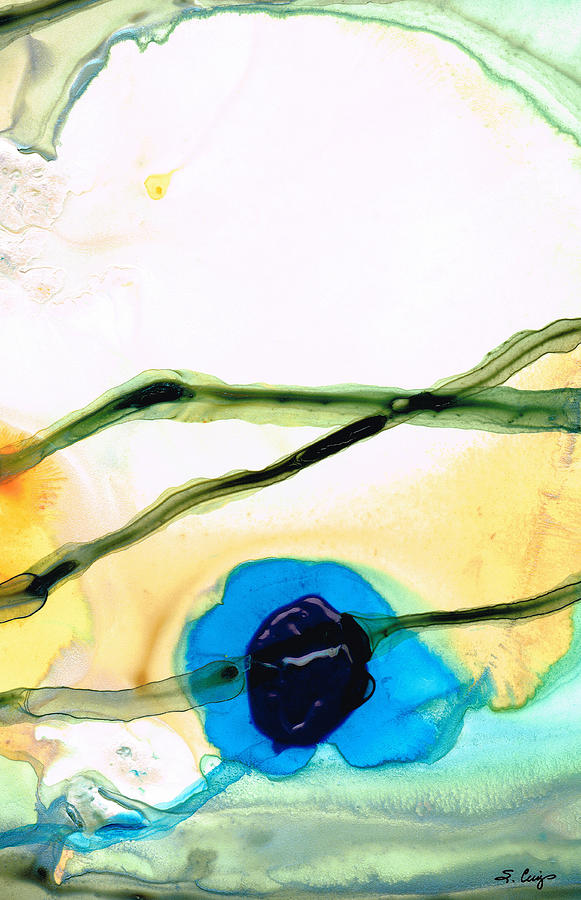 Abstract Painting - Modern Abstract Art - A Perfect Moment - Sharon Cummings by Sharon Cummings