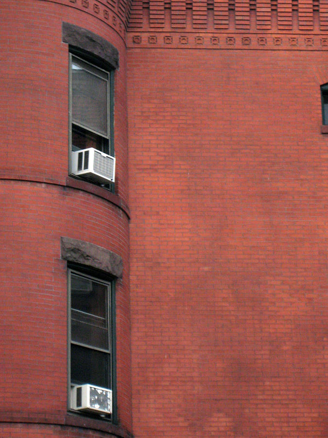 Brick Photograph - Modern Adjustments by Sean Owens