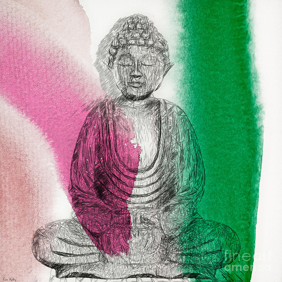 Modern Buddha by Lita Kelley