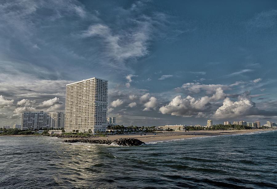 Modern Condos On Fort Lauderdale Beach Photograph