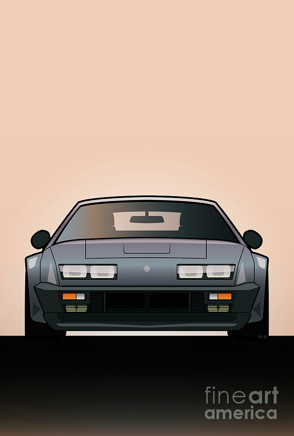 Modern Euro Icons Series Alpine A310 GT by Monkey Crisis On Mars