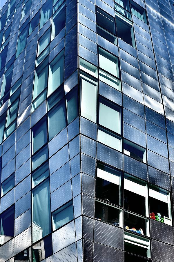 New York Photograph - Modern Ny Building by Ryan Tindall