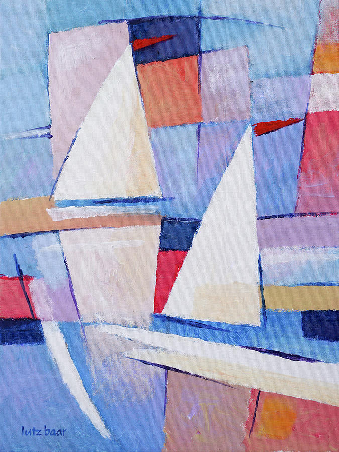 Modern Painting - Modern Seascape Painting by Lutz Baar