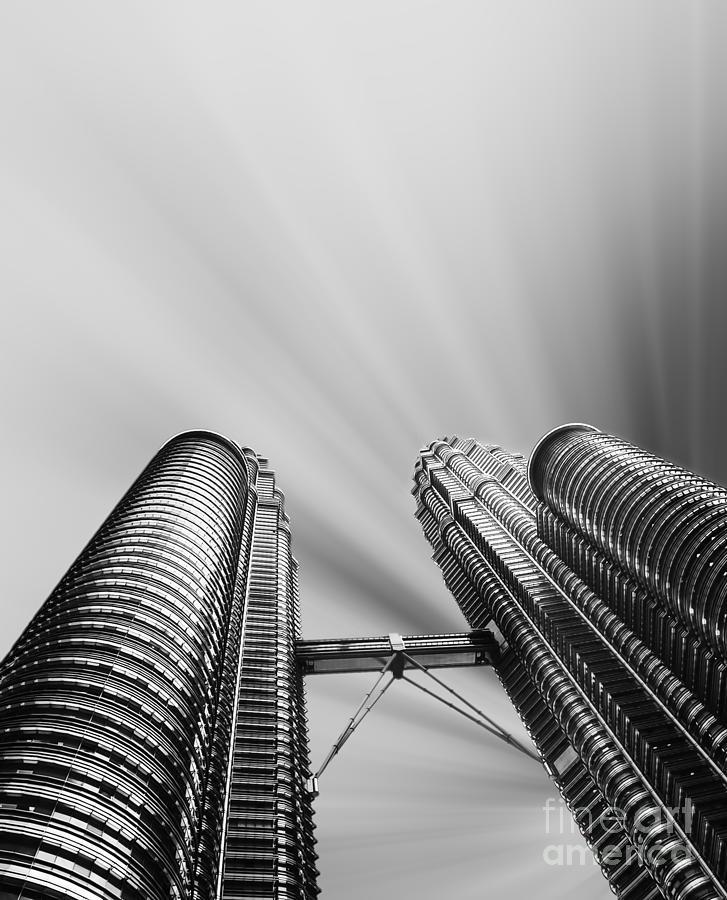 Skyscraper Photograph - Modern Skyscraper Black And White  by Stefano Senise