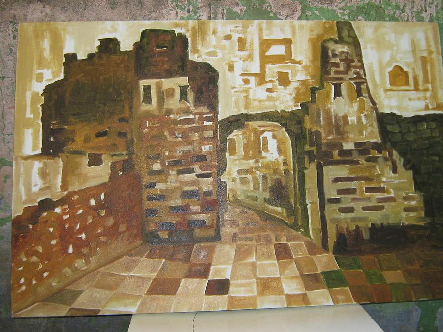 Modern Style Of Palace Painting by Gayatri Maheshwari