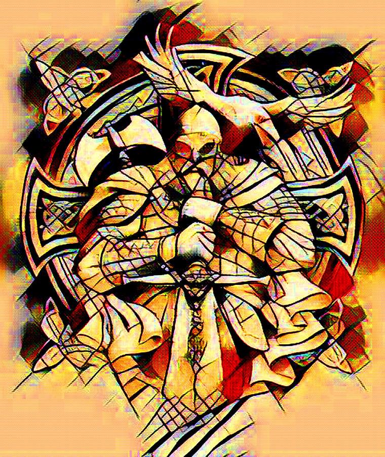 Modern Viking Abstract