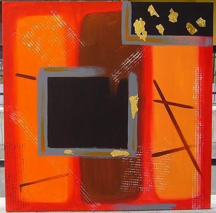 Abstract Painting - Modernity3 by Marilena  Pilla