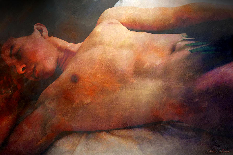 Artistic Nude Digital Art - Modesto by Mark Ashkenazi