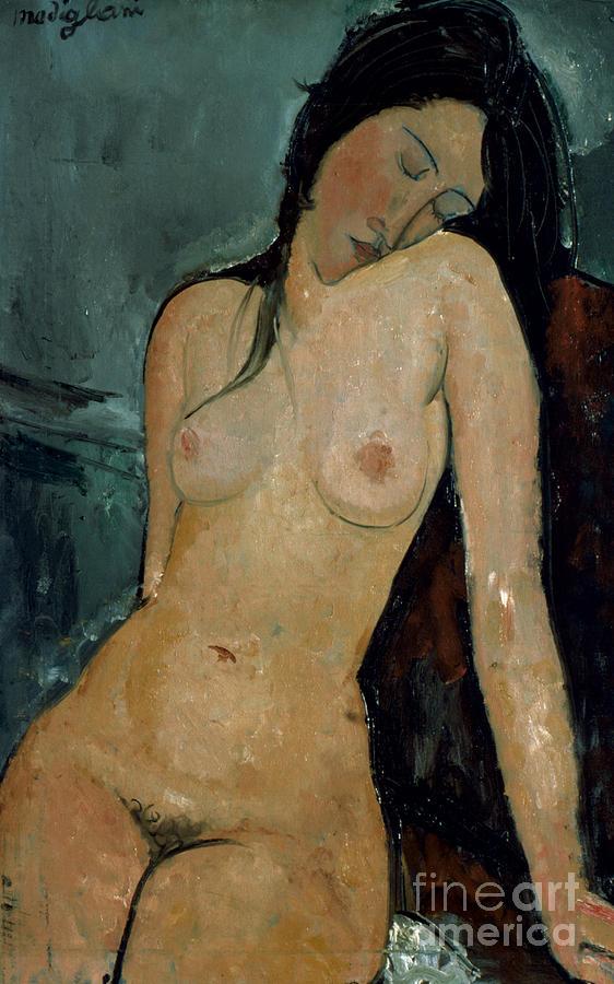1917 Photograph - Modigliani: Nude, C1917 by Granger