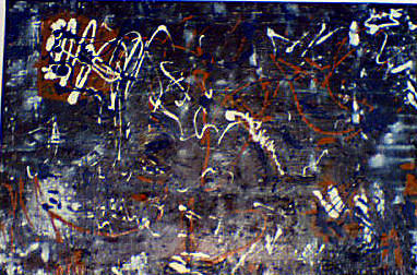 Abstract Painting - Modus Operandis Pollock by Nathalie  Dujmovic