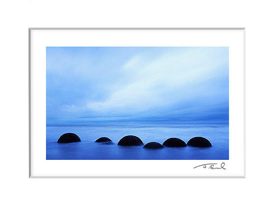 Landscape Photograph - Moeraki Boulders 2 by James Osmond