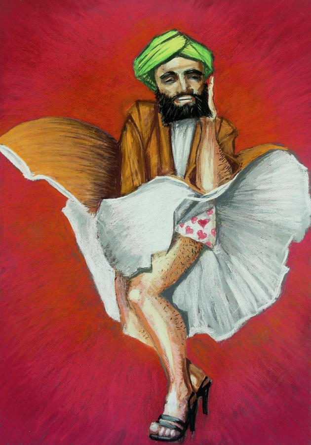 Mohammad Pastel - Mohammad Monroe by Thomas Forsyth