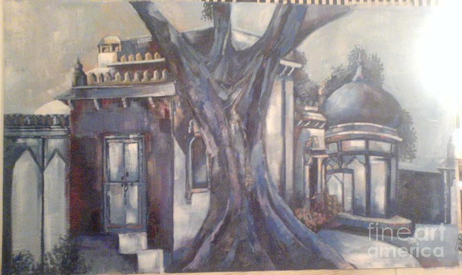 Mohatta Palace Painting - Mohatta Palace by Aisha Gul