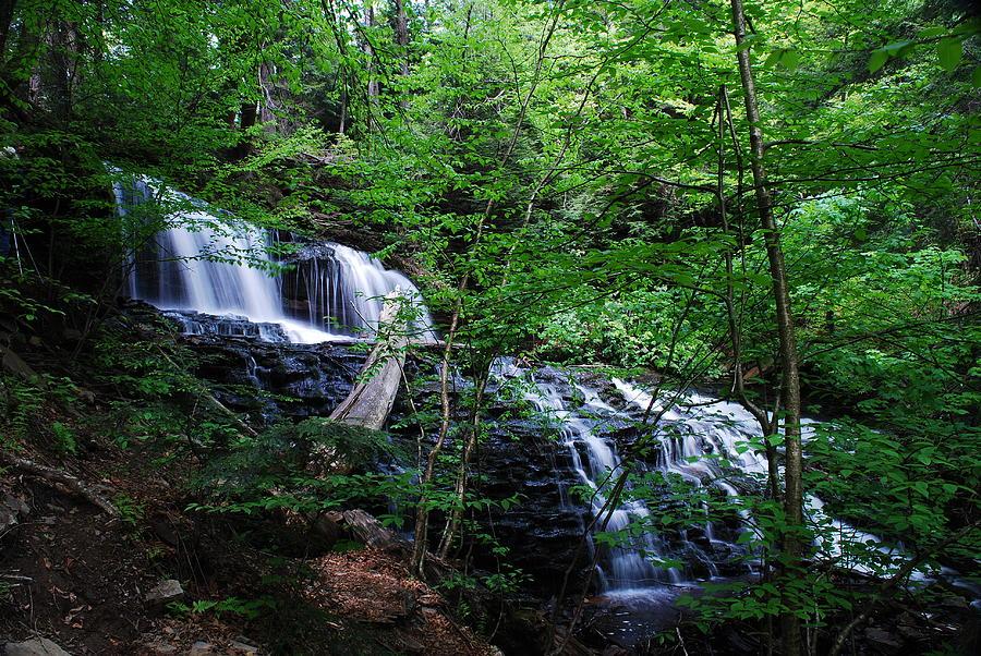 Falls Photograph - Mohawk Falls by Eric Harbaugh