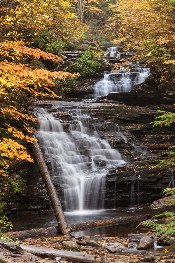 Waterfall Photograph - Mohican Falls by John Daly