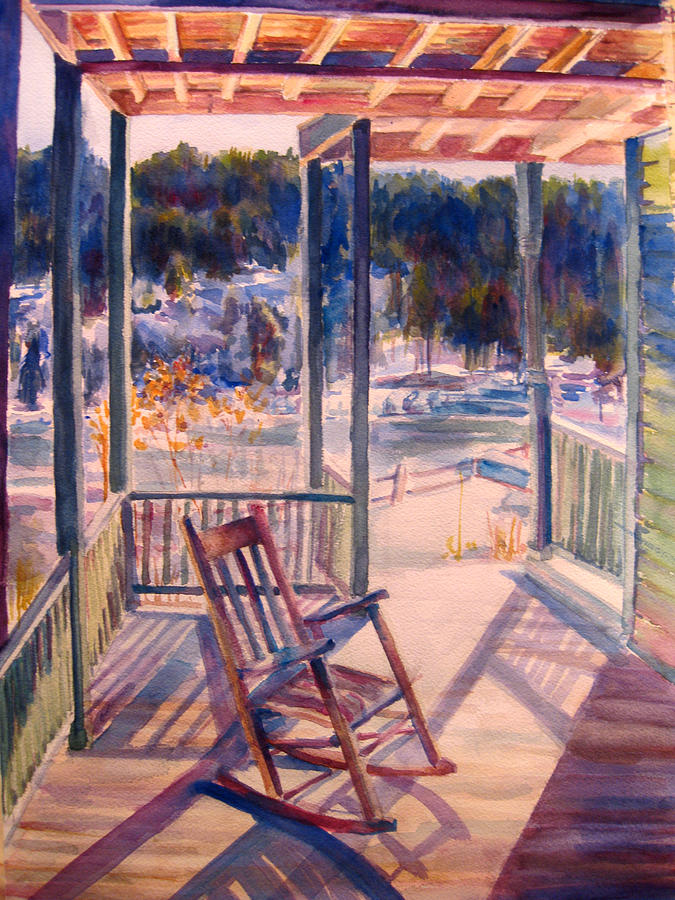 Snow Painting - Mohonk In January by Joyce Kanyuk