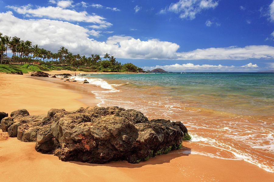 Maui Photograph - Mokapu Beach Maui by James Eddy
