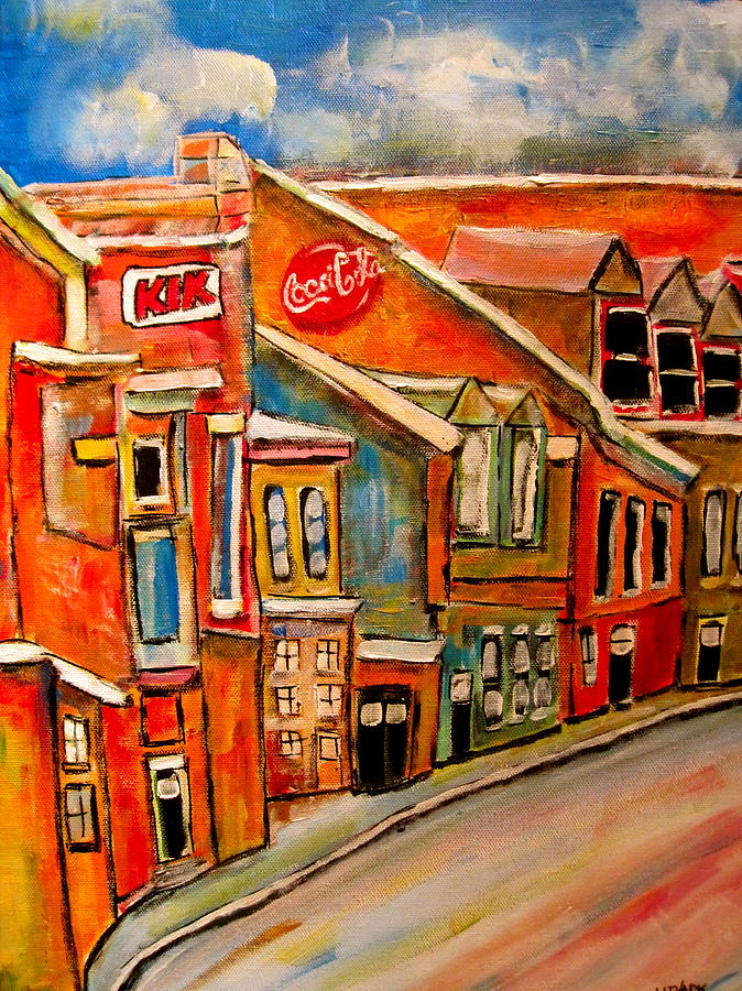 Molasses And Beer District Painting by Michael Litvack