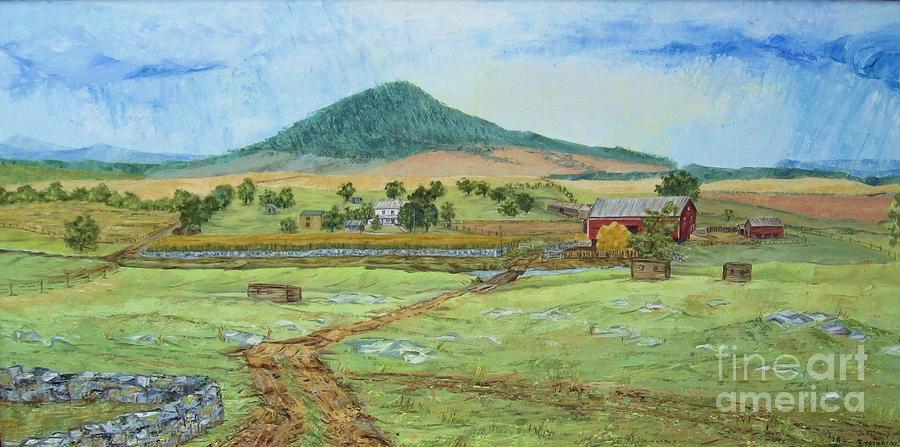 Mole Hill Panorama Painting by Judith Espinoza