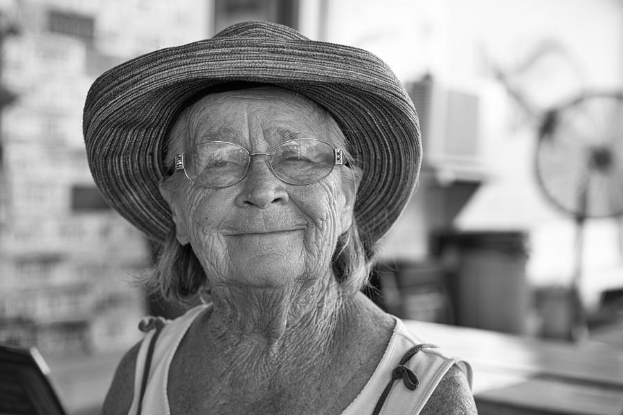 Mom At 80 Photograph