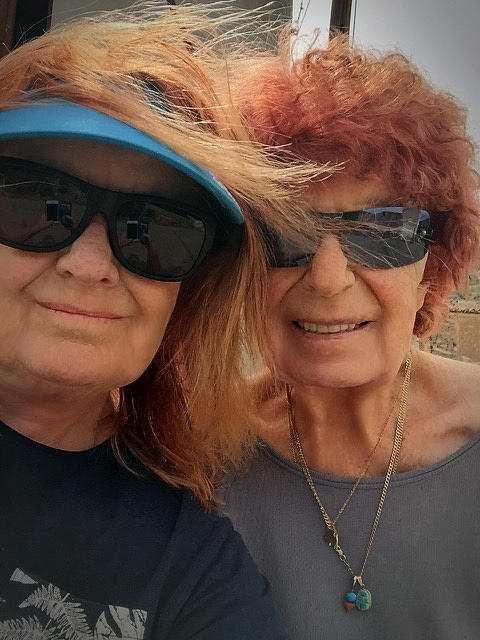 Mom Chris and daughter Colette May 2017 by Colette V Hera Guggenheim
