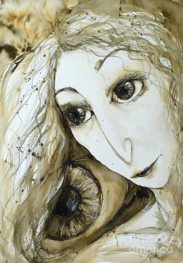 Face Painting - Moment by Lynn Bennett-Mackenzie