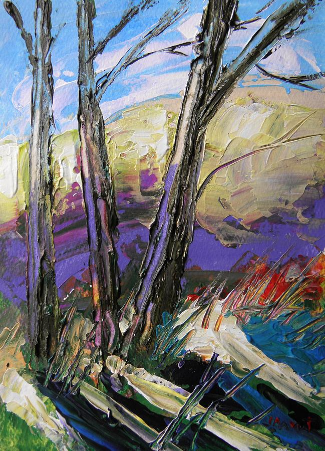 Landscape Painting - Moment Of Brightening by John Williams