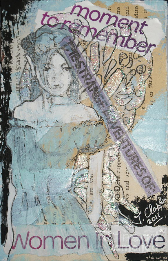 Fairy Mixed Media - Moment To Remember by Joanne Claxton