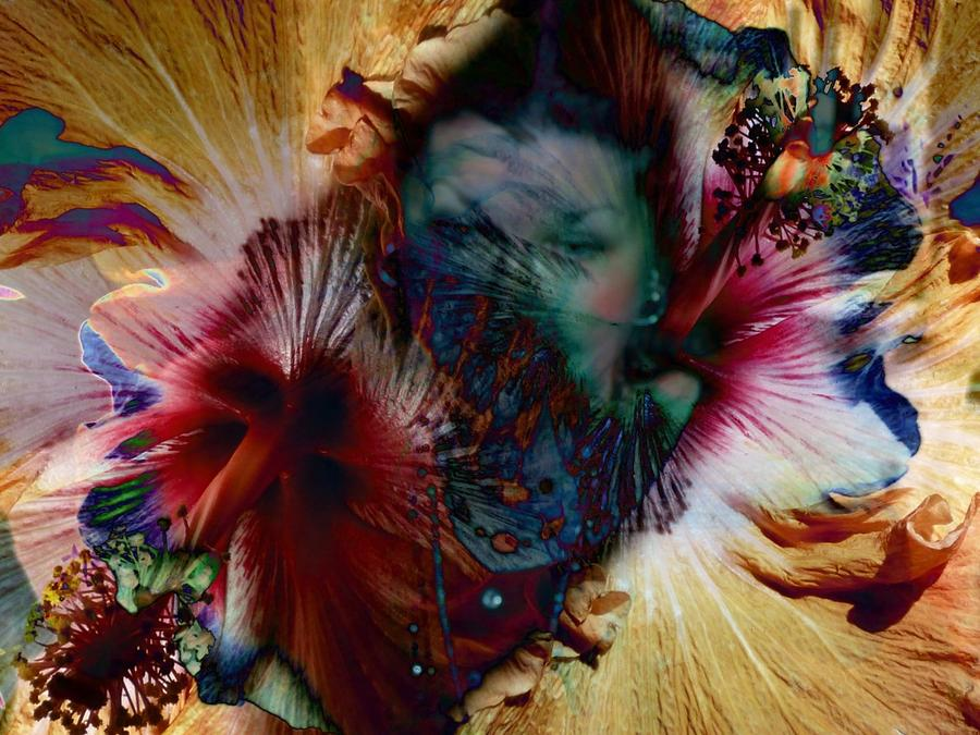 Moments From Within Digital Art by S I Sheehan