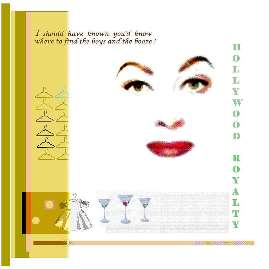 Joan Crawford Mixed Media - Mommie by Dennis Flynn