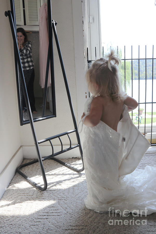 Mommy's Wedding Dress by Melissa  Mim Rieman